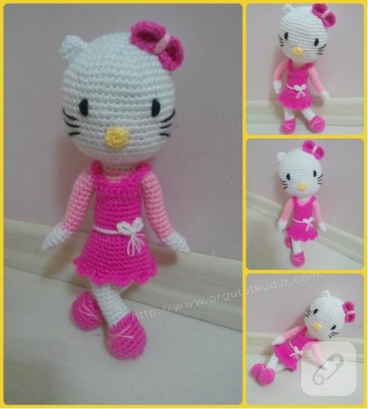 Amigurumi Hello Kitty - Canım Anne | 589x530