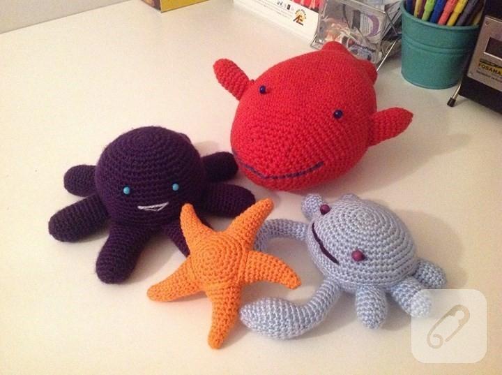 Amigurumi Bebek Gövdesi : Amigurumi deniz yıldızı yapımı marifet