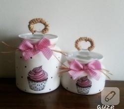 cam-boyama-cupcake-suslemeli-kavanozlar