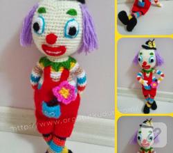 kendin-yap-amigurumi-orgu-oyuncak-palyaco
