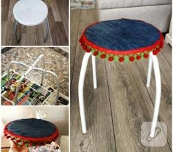 mobilya-boyama-tabure-yenileme