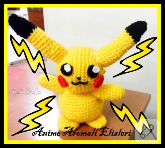Amigurumi Pokemon Pikachu 10marifet.org