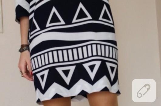 geometrik-desenli-kolay-elbise-modelleri