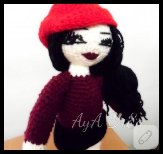 Amigurumi Zeitschrift 4 : Amigurumi oyuncak Ruhsar (Hande Ataizi) 10marifet.org