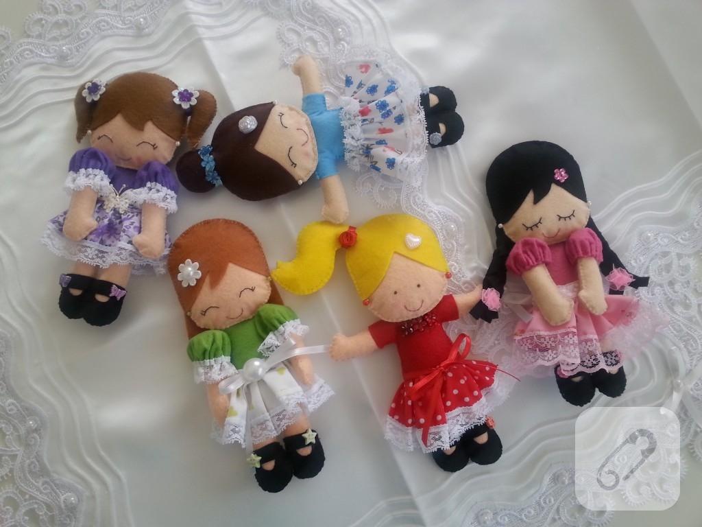 Keçeden yapılan çok güzel oyuncak modelleri