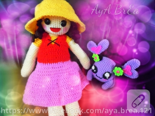 Amigurumi Heidi oyuncak bebek 10marifet.org