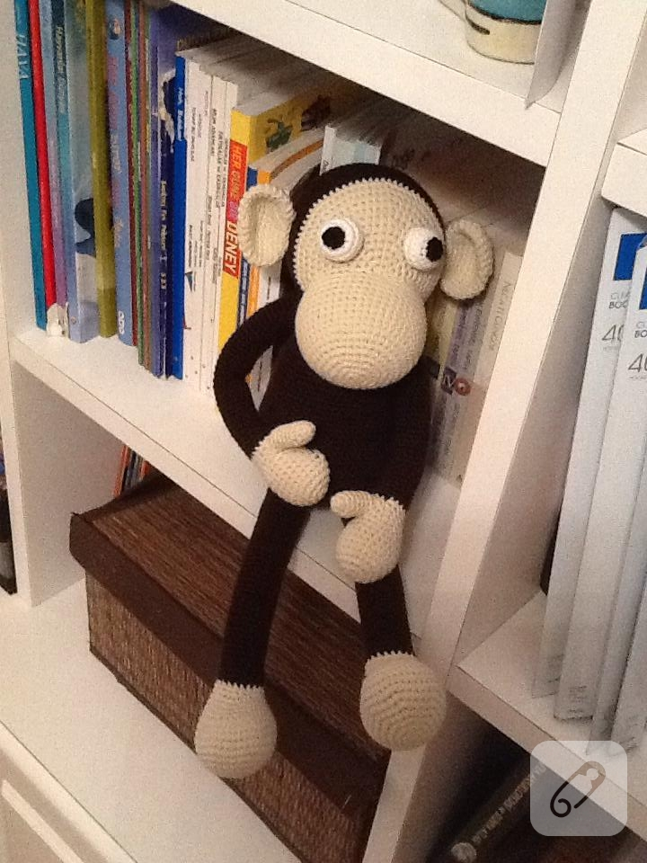 Amigurumi Maymun Mogli - Amigurumi Oyuncak Maymun Tarifi | 960x720