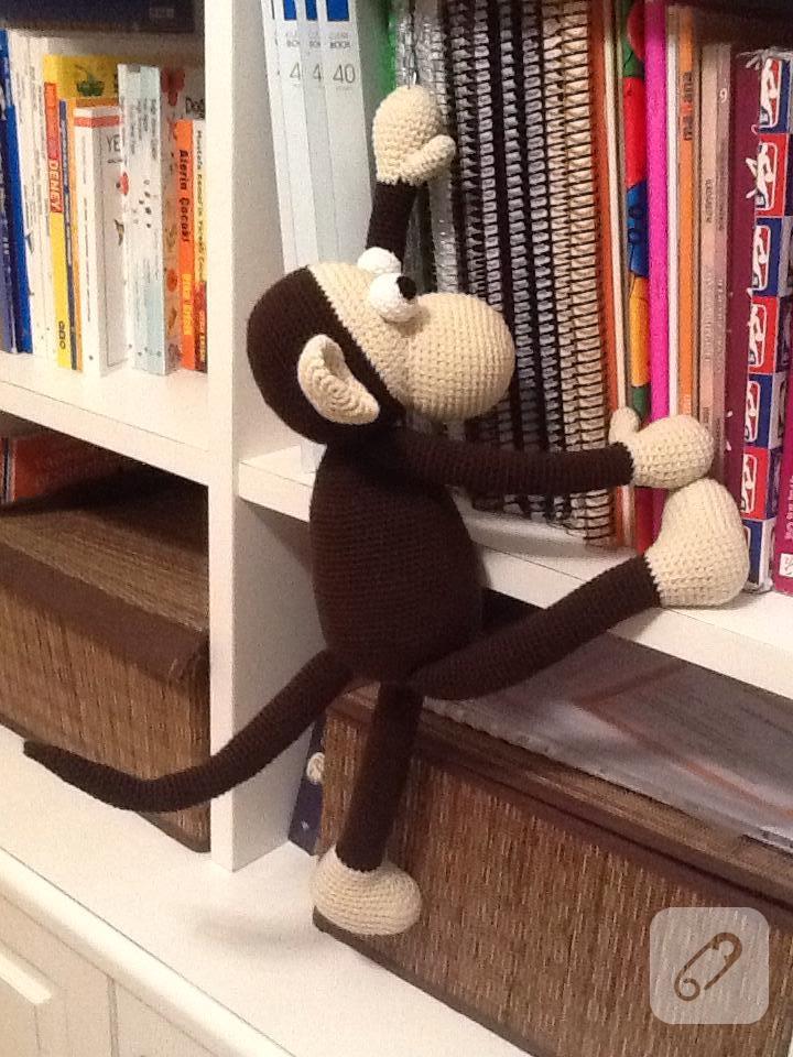 Amigurumi - Amigurumi Kıvırcık Bebek Maymun Yapımı - Örgü Modelleri   960x720