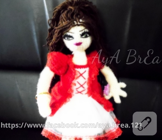 Amigurumi Crochet Pamuk Prenses Free Pattern Yapılışı | 459x530