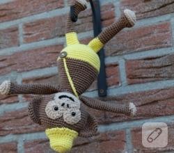 amigurumi-oyuncak-maymun