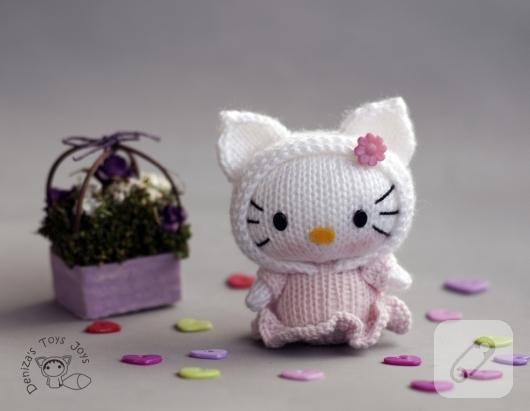 Cici Hello Kitty anahtarlık – 10marifet.org | 411x530