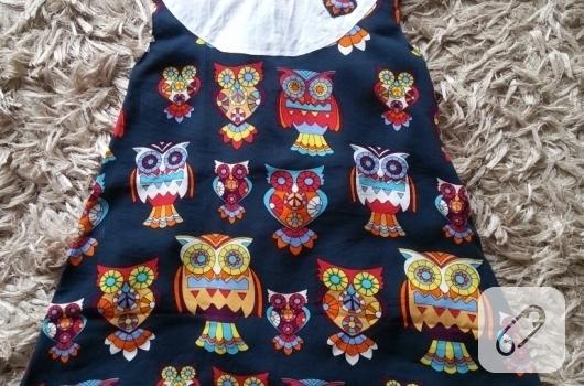 baykus-desenli-cocuk-elbisesi-modelleri