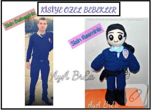 amigurumi-polis-oyuncak-bebek