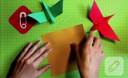 Video: Origami kuş nasıl yapılır?