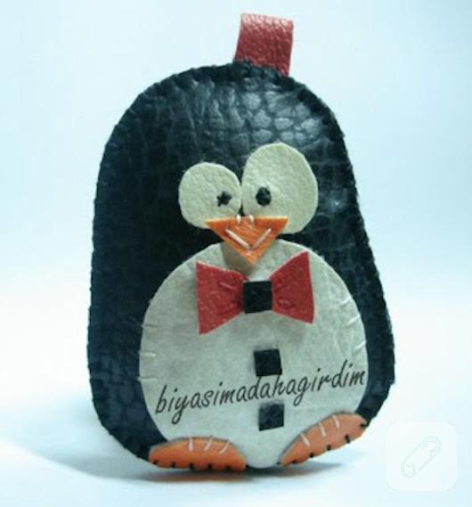 deriden-minik-penguen-anahtarlik-yapimi