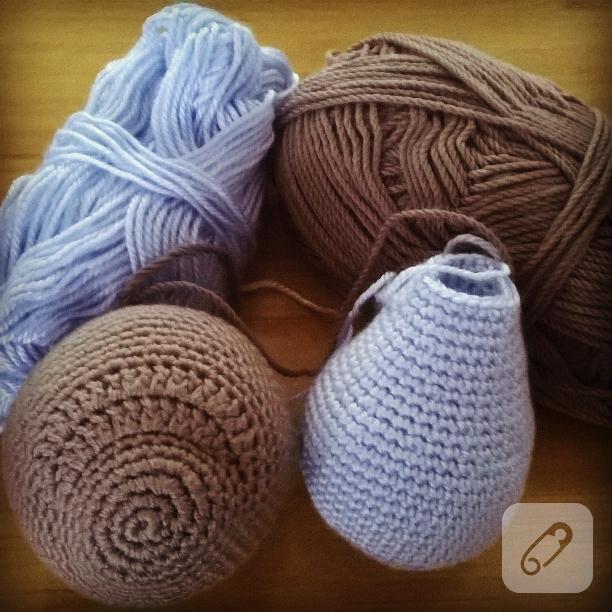 Örgü Ayıcık Yapılışı Anlatımlı | Crochet teddy bear pattern ... | 612x612