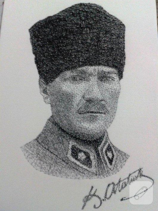 filografi-ornekleri-el-yapimi-ataturk-portreleri