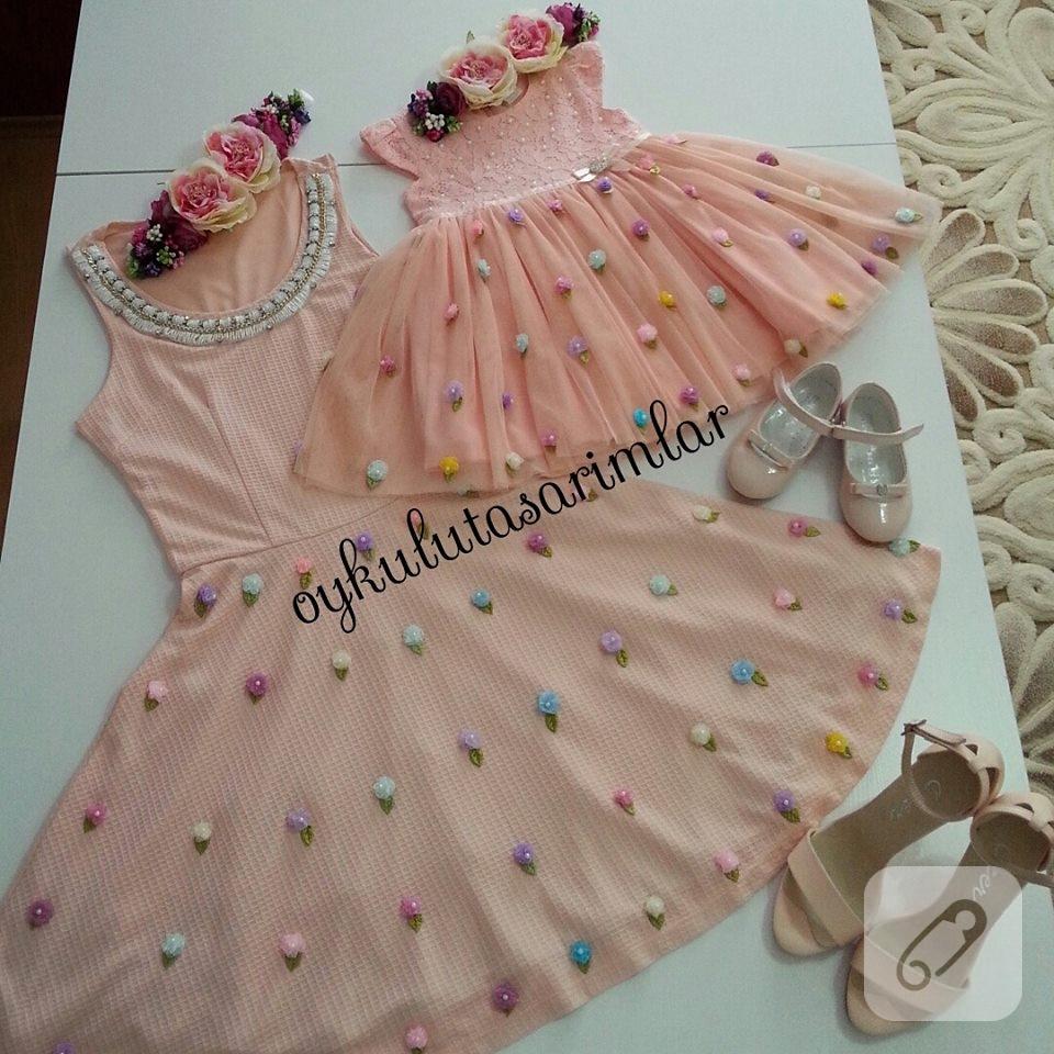 1 Yaş Kız Bebek Elbise Modeli Yapılışı