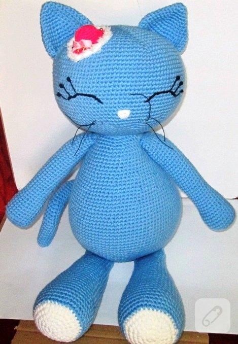 Amigurumi Kıyafetli Kedi Yapımı - Örgü Modelleri - Pembe Marifet | 678x469