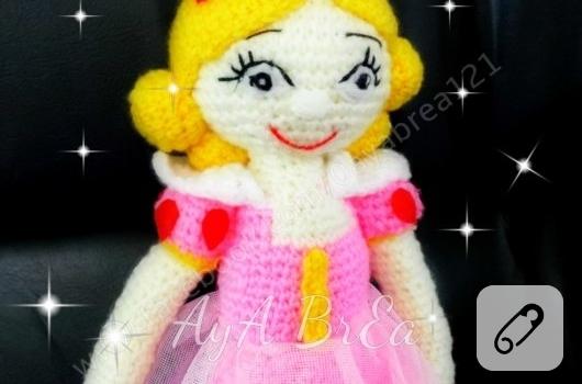 amigurumi-pembe-elbiseli-prenses-bebek-orgu-oyuncaklar-