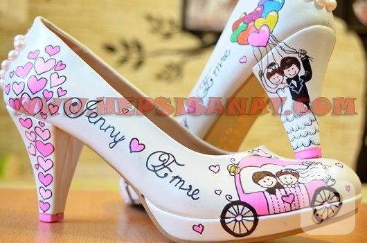 kisa-topuklu-el-boyamasi-gelin-ayakkabilari-3
