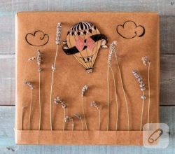 craft-kagidindan-lavanta-suslemeli-guzel-hediye-paketi-ornekleri