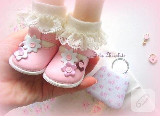 minik-pembe-bebek-ayakkabilari-