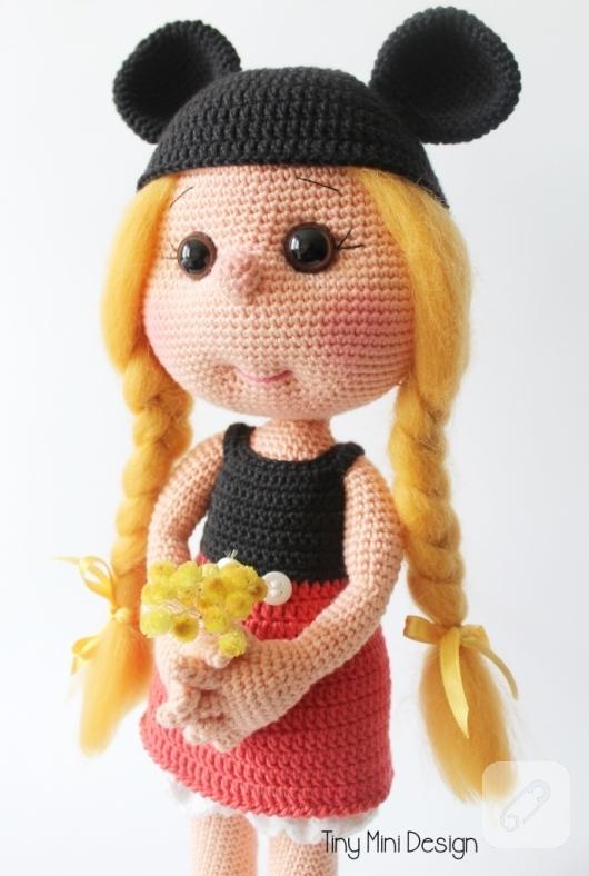 Mickey Mouse Amigurumi pattern - Disney Crochet pattern - Mickey ... | 788x530