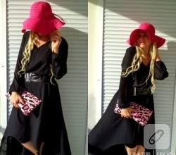 siyah-uzun-sifon-elbise-modelleri