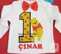 Winnie-the-pooh-aplikeli-kece-dogum-gunu-tisortu