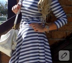 cizgili-mini-elbise-modelleri-2