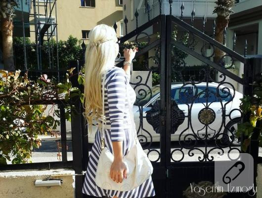 cizgili-mini-elbise-modelleri