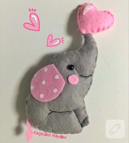 keceden-pembe-kalpli-fil-bebek-sekeri-modelleri