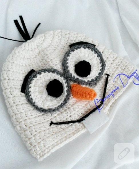 Amigurumi Frozen Olaf Free Pattern - Mimuu.com | 588x486