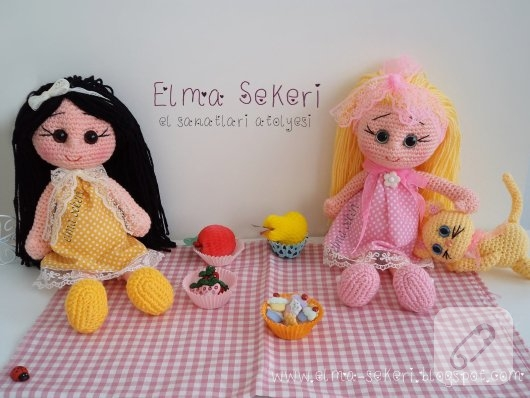 Amigurumi Elsa Bebek : Amigurumi Karamel bebek 10marifet.org