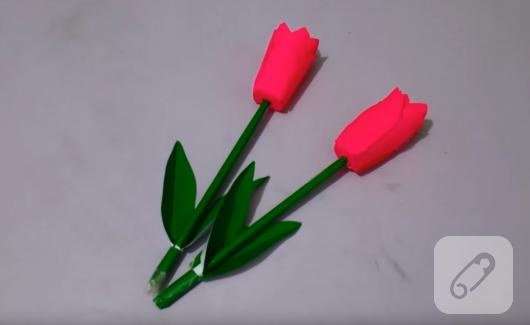 kagittan-origami-lale-yapimi
