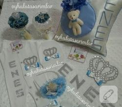 mavi-suslemeli-erkek-bebek-hastane-cikis-seti