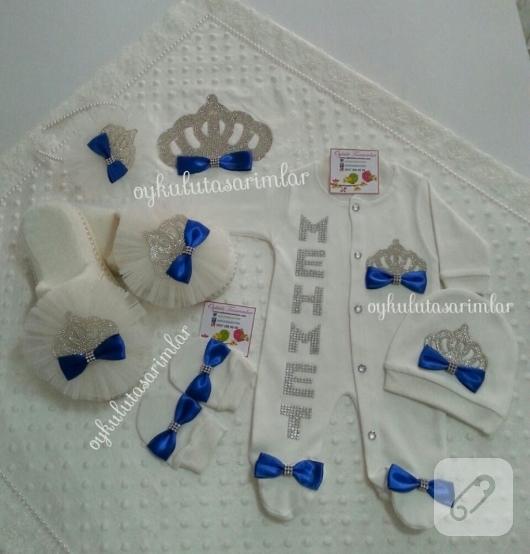 saks-mavisi-erkek-bebek-hastane-cikis-seti