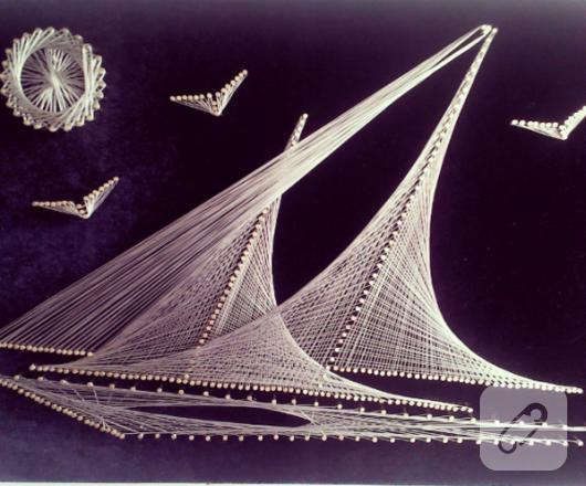 filografi-civi-sanati-yelkenli-deniz-duvar-panosu
