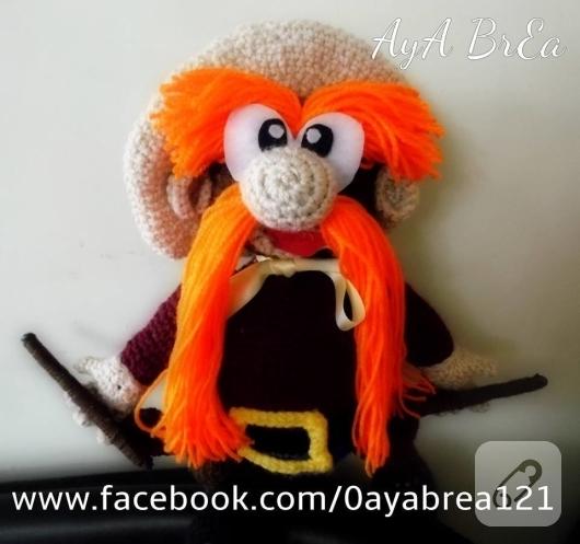 amigurumi-karakter-oyuncaklari-orgu-yosemite-sam-oyuncagi-2