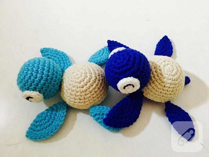 Amigurumi Balon Yapimi : Amigurumi minik deniz kaplumbagalari 10marifet.org