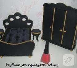 minyatur-siyah-yatak-odasi-modelleri