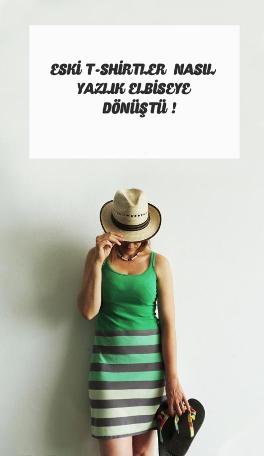 make a dress with t-shirt pin 2