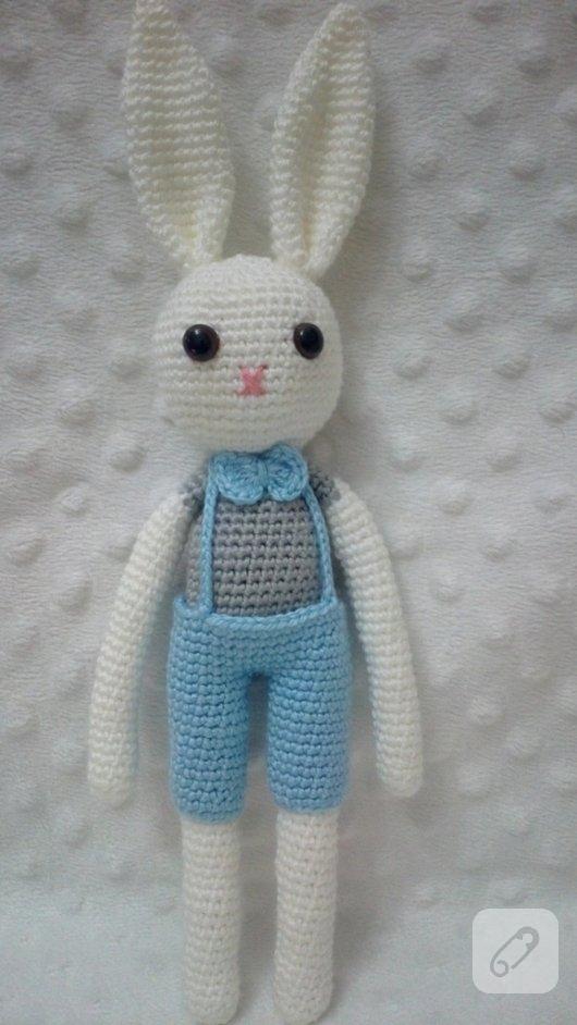 Amigurumi tavsan - saglikli oyuncaklar 10marifet.org