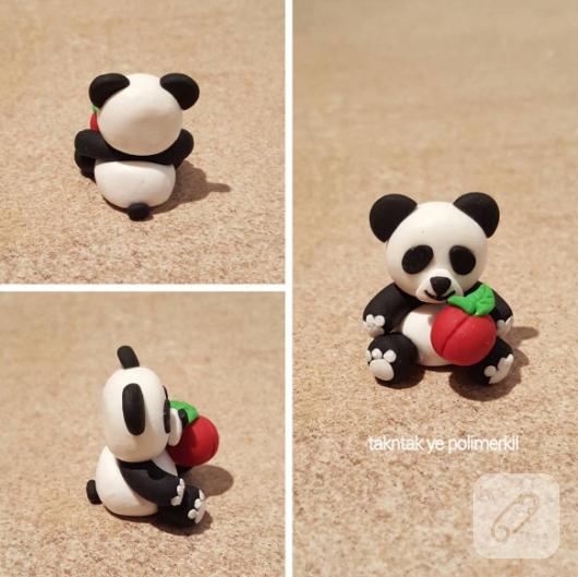 polimer-kil-fimo-panda-figur