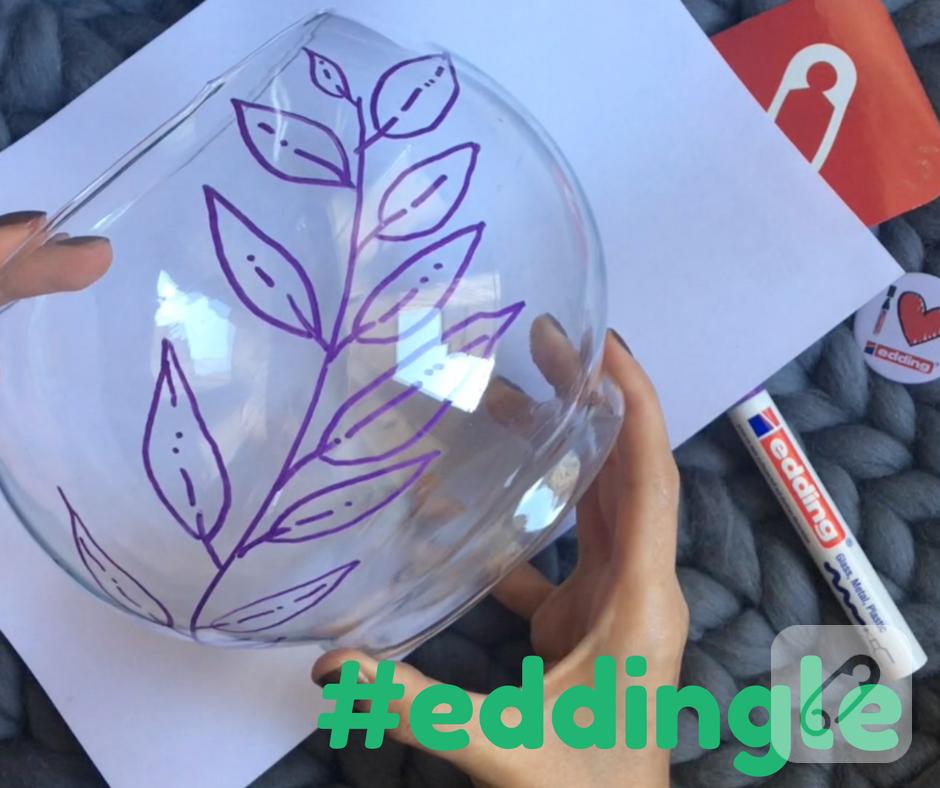 Video: edding'le cam vazo nasıl süslenir?