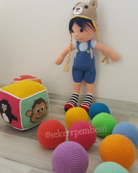 bez bebek oyuncak yapımı