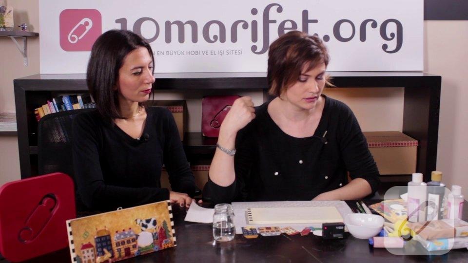 Video: Ahşap pano için dekupaj zemin ve stencil uygulaması