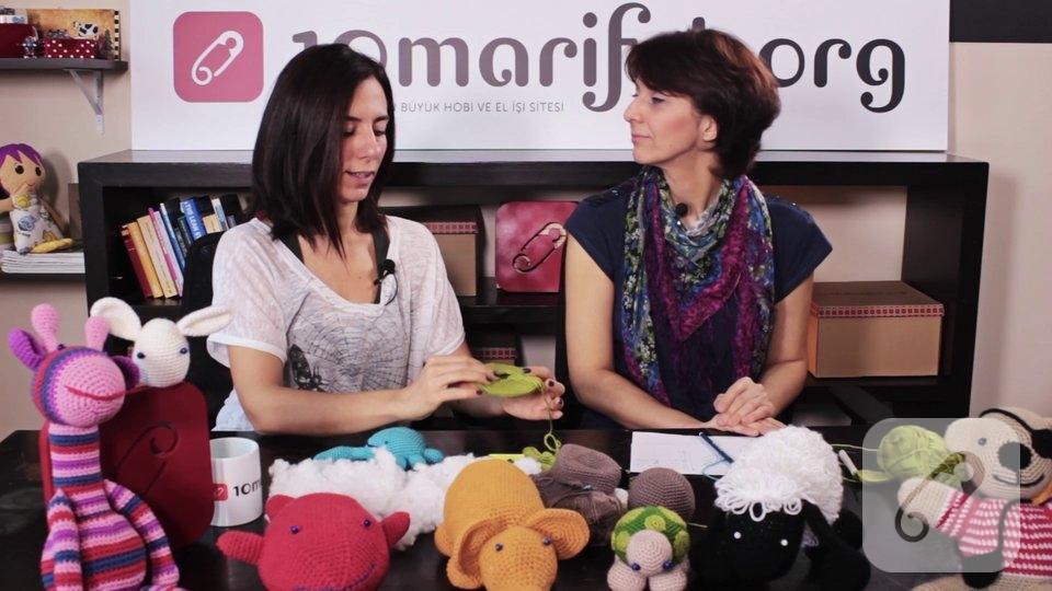 Video: Örgü oyuncak amigurumi yengeç nasıl yapılır? – 2