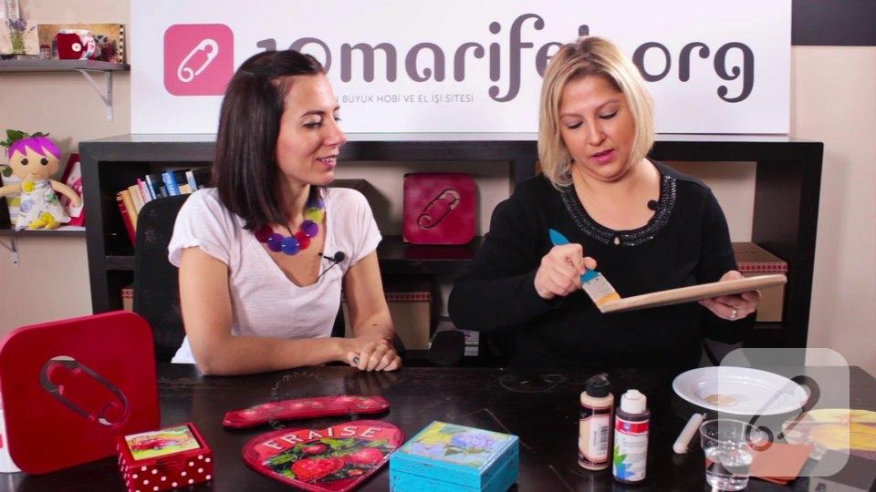 Video: Ahşap boyama-mum eskitme nasıl yapılır?